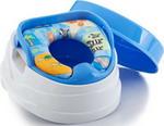 Горшок и сиденье детское  Baby Care  3 в 1 РМ 2398 D 26 синий