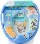 Горшок и сиденье детское  Baby Care  РМ 2399 D 26 синий
