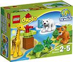 Конструктор  Lego  Duplo Вокруг света: малыши
