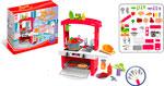 Сюжетно-ролевая игра  Zhorya  с аксессуарами Кухня 45 элементов, красная