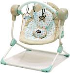 Электрокачели  Baby Care  Balancelle S 700 с пультом ДУ кремовый