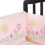 Бампер и бортик для кроватки  Луняшки  Солнечный дворик