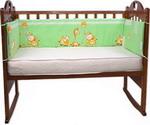 Бампер и бортик для кроватки  Луняшки  Друзья