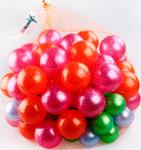 Аксессуар для спорта и отдыха  Нордпласт  Пластмасовые шары для сухого бассейна, диаметр 6 и 8 см, 100 шт