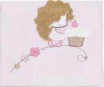 Покрывало и плед  Little People  Ёжик Топа-Топ с аппликацией (розовый)