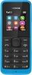 Мобильный телефон  Nokia  105 Dual Sim голубой (cyan)