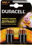 Батарейка, аккумулятор и зарядное устройство  Duracell  LR 03/MN 2400-4BL BASIC AAA
