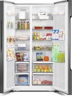 Холодильник Side by Side  HISENSE  RС-67 WS4SAS серебристый