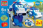 Конструктор  Город мастеров  Робот - полицейская машина