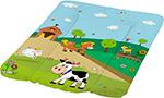 Детский матрас  ОКТ  Весёлая Ферма зелёный 50х70
