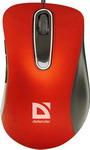 Мышь компьютерная и клавиатура  Defender  Datum MM-070 красный 52071