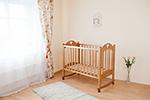 Детская кроватка  Можга Красная Звезда  Любаша С635 медовая