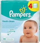 Салфетки детские  Pampers  Fresh Clean 4х64 шт