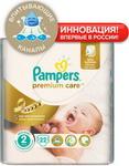 Подгузник  Pampers  Premium Care Mini (3-6 кг) Микро Упаковка 22 шт