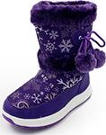 Детская обувь  Tomax  зимние р. 35 фиолетовые 5801-2