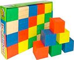 Деревянная игрушка  Томик  цветные, 20 деталей