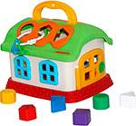 Интерактивная и развивающая игрушка  Полесье  Сказочный домик