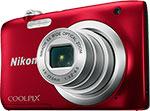 Фотоаппарат  Nikon  COOLPIX A 100 красный