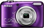 Фотоаппарат  Nikon  COOLPIX A 10 Purple Lineart