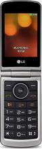 Мобильный телефон  LG  G 360 красный