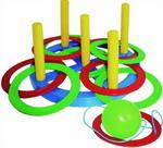 Активная игра  Плэйдорадо  Набрось кольцо, поймай шарик (2 в 1)