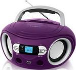 Магнитола  BBK  BS 15 BT фиолетовый