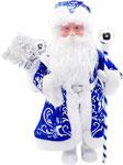 Кукла  Новогодняя сказка  Дед Мороз 43 см под елку, синий (972426)