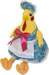 Мягкая игрушка  Gulliver  Курочка Марфа желто-голубая