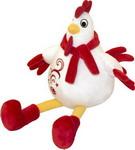 Мягкая игрушка  Gulliver  с вышивкой красно-белый
