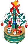 Деревянная игрушка  Новогодняя сказка  20,5 см с игрушками (97965)