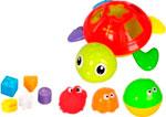 Игрушка для купания  Zhorya  Черепаха с формочками