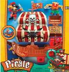 Сюжетно-ролевая игра  Keenway  Приключение пиратов. Битва за остров (корабль с красным парусом)