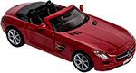 Транспорт  BBurago  MERCEDES-BENZ SLS AMG Cabrio металлическая 18-43035