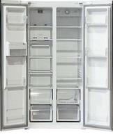 Холодильник Side by Side  Ginzzu  NFK-455 нерж сталь