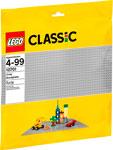 Конструктор  Lego  Classic Строительная пластина серого цвета 10701