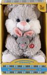 Мягкая игрушка  Fluffy Family  Мама и малыш Зайка
