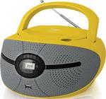 Магнитола  BBK  BX 195 U желтый