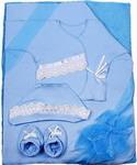 Комплект на выписку  Грач  8 предметов голубой