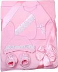 Комплект на выписку  Грач  8 предметов светло-розовый