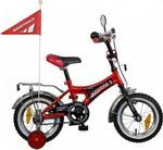 Велосипед детский  Novatrack  12, A, FORMULA черный/красный