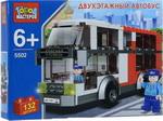 Конструктор  ГОРОД МАСТЕРОВ  Двухэтажный автобус