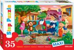 Настольная развивающая и обучающая игра  Степ  Чебурашка Макси 35 дет.