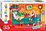 Настольная развивающая и обучающая игра  Степ  День  Рождения Макси 35 дет.