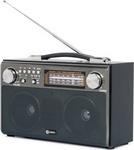 Радиоприемник и радиочасы  Harper  HDRS-033 black