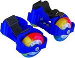 Роликовые коньки  Moby Kids  2 колеса, свет, синие