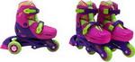 Роликовые коньки  Moby Kids  2в1, защита, шлем, пласт.,р.27-29