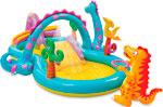 Надувная игрушка для открытого воздуха  Intex  Диноленд 333х229х112 см