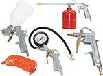 Набор пневмоинструментов  Fubag  5 предметов (к/р с верхним бачком)