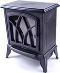 Камин  Endever  Flame-04, черный