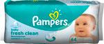 Салфетки детские  Pampers  влажные Fresh Clean сменный блок 64